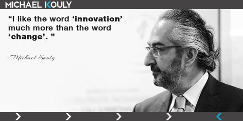 Michaelkouly quotes innovation word change