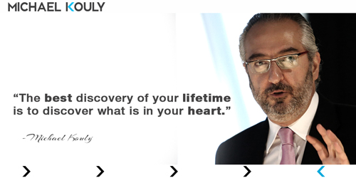 Michaelkouly quotes best discovery lifetime in your heart