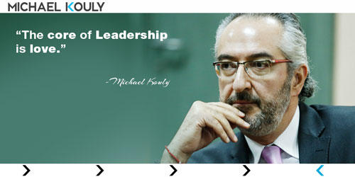 michael kouly quotes core leadership love